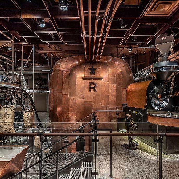 Starbucks Roastery, New York