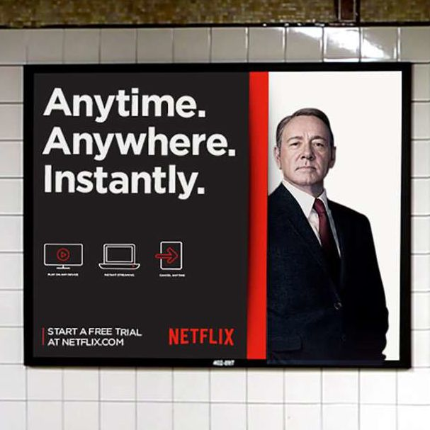 Netflix advertising