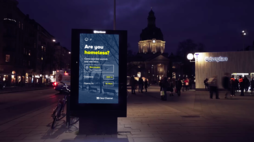 Clear Channel's smart billboards help the homeless