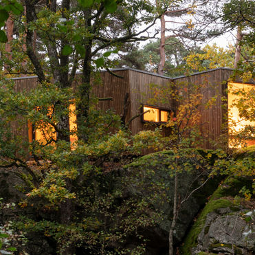 This hospital retreat immerses patients in nature