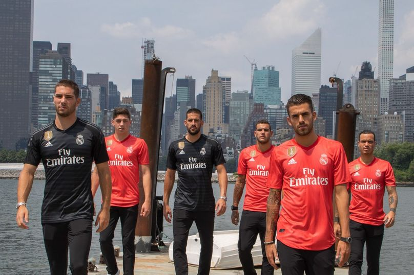 Real Madrid kit made from recycled plastic by Adidas