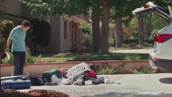 BMW recycles old ads to promote pre-owned cars