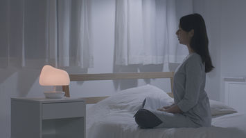 Notte is a bedside companion that tracks your emotions