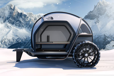 Camper by The North Face and BMW Designworks