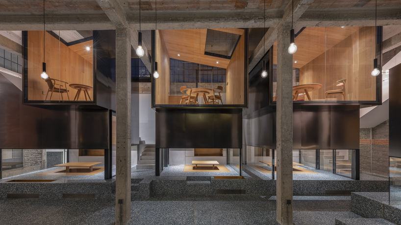 Tingtai Teahouse, designed by Linehouse