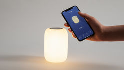 Casper's nightlight is controlled by gestures