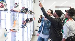 Nike's latest pop-up store is based on an app