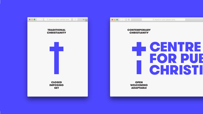 The Centre for Public Christianity branding by For The People, Australia