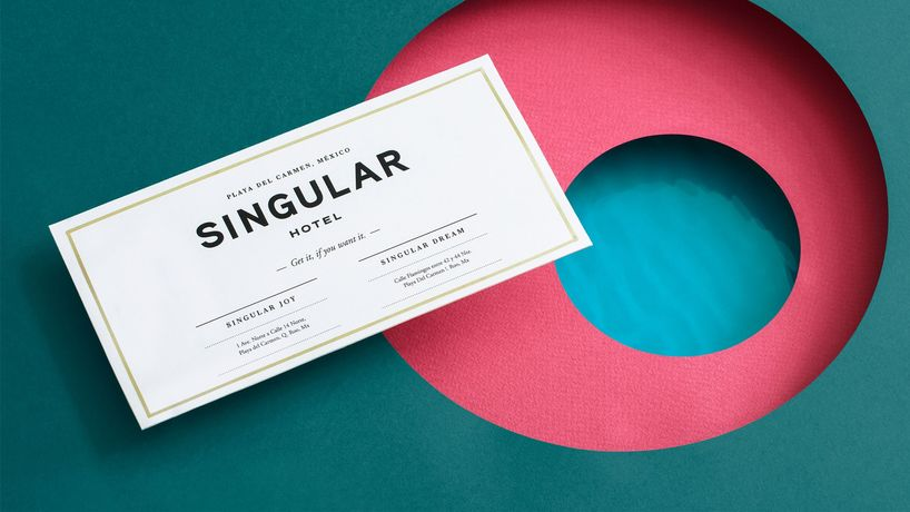 Singular Residence Hotel, branding by Futura, photography by Rodrigo Chapa