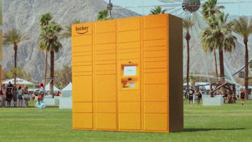 Amazon lockers are heading to Coachella