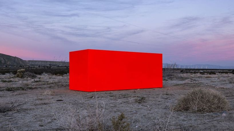 Specter installation view by Sterling Ruby, Desert X 2019. Photography by Lance Gerber, courtesy of Desert X
