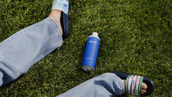 Cove is a new brand of biodegradable bottled water
