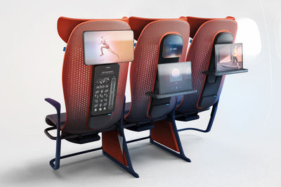 Move smart seating by Layer studio. Images shown with the consent of Airbus