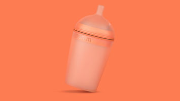 Borrn is a baby bottle for eco-conscious parents