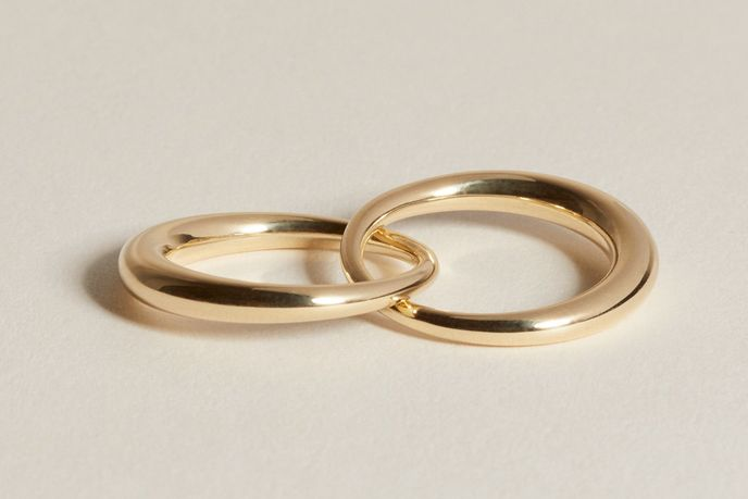 Duo Form Ring by J.Hannah, US