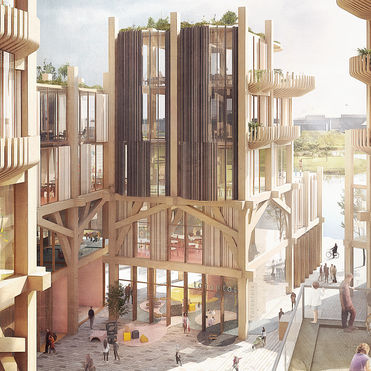 Snøhetta's timber neighbourhood for Sidewalk Toronto