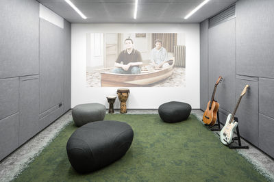 Grammarly office designed by Balbek Bureau, Kiev