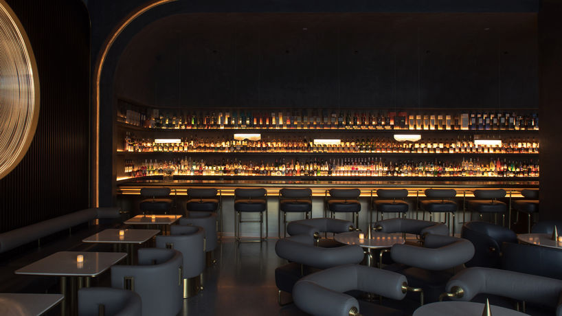 Way2 whisky bar designed by PIG Design, photography by Wang Fei, Hangzhou