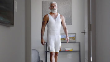 This technical body suit offers an extra set of muscles