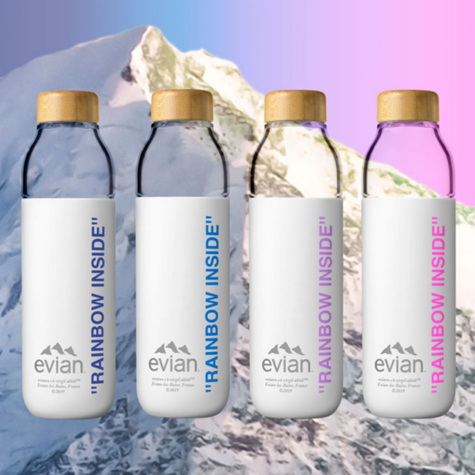 Virgil Abloh for Evian