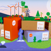 Etsy offsets 100% of carbon emissions from shipping