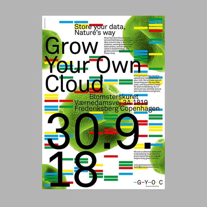 Grow Your Own Cloud by Monika Seyfried and Cyrus Clarke, Copenhagen