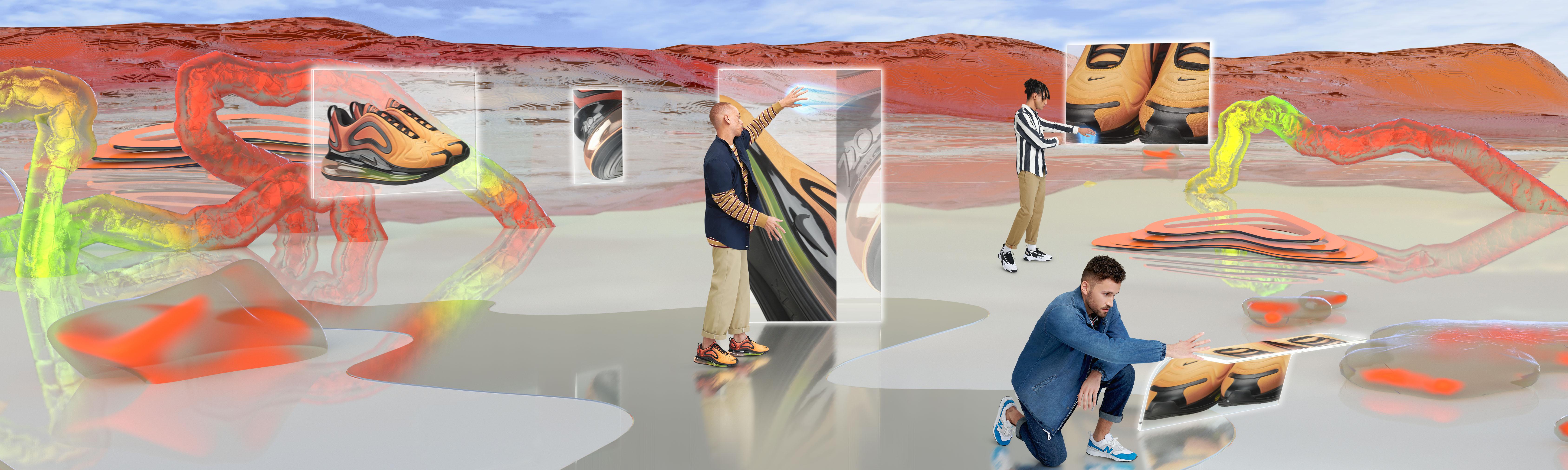 Zalando's website becomes a virtual