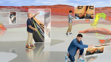 Zalando's website becomes a virtual world for sneakers