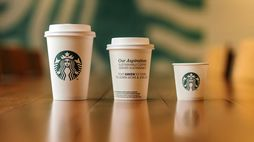 Starbucks trials cups tailored to local recycling