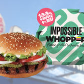 Burger King debuts plant-based Impossible Whopper