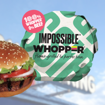 Impossible Whopper for Burger King
