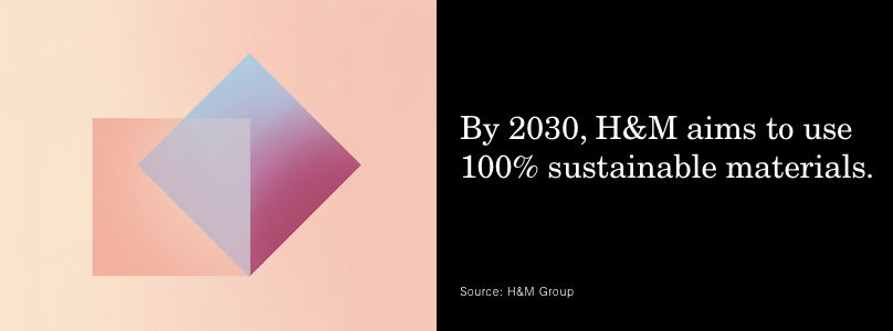 LSN : News : Stat: H&M pledges to use 100% sustainable materials
