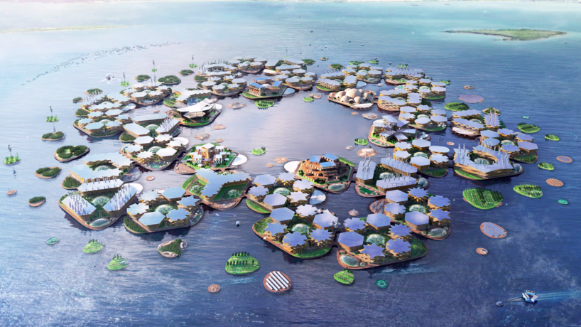 Oceanix City by BIG Bjarke Ingels Group