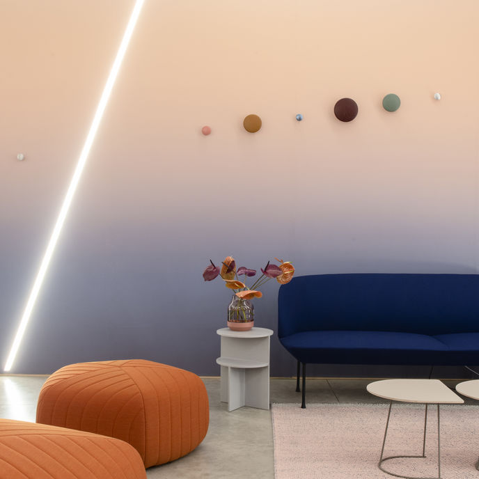 The Vital room at A Space for Being by Google at Milan Salone Internazionale del Mobile 2019