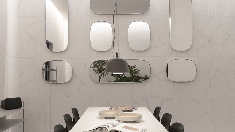 The 'Transformative' room at A Space for Being by Google at Milan Salone Internazionale del Mobile 2019