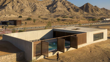 This desert hotel is designed for extreme climates