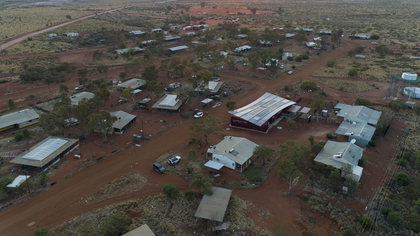 Punmu and Parnngurr Aboriginal Health Clinics, Australia, photography by Brett Boardman