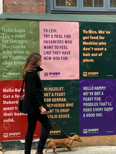 Puppo, campaign by Colenso BBDO Auckland