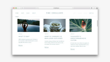 The Chillery is a premium platform for CBD