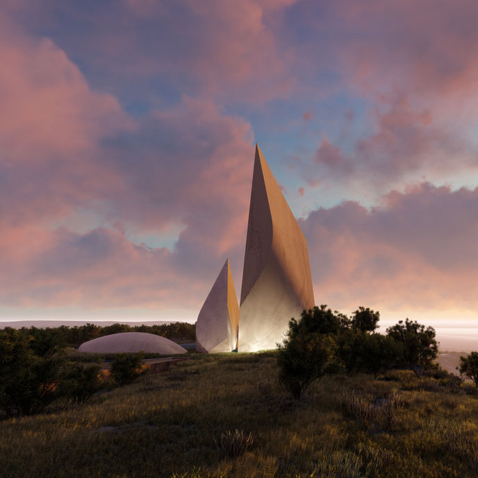 Ngaren: The Museum of Humankind by Richard Leakey, designed by Studio Libeskind