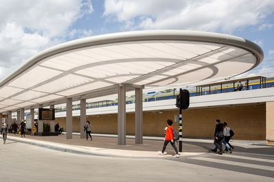Tilburg Bus Station by Cepezed architects