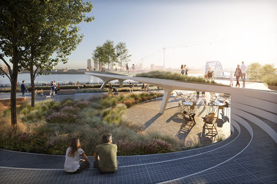 The Tide at Greenwich Peninsula, designed by Diller Scofidio + Renfro, London