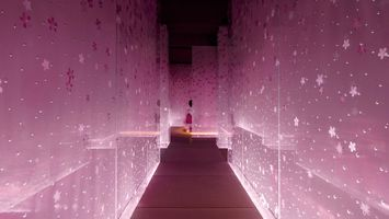 A restaurant inspired by Japanese cherry blossoms