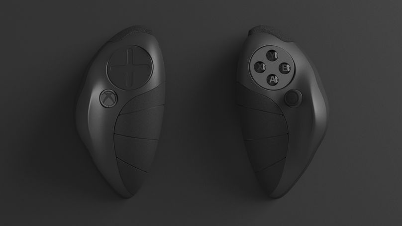 Xbox game controller redesigned to your hand for better comfort by Yeong Seok Go, South Korea