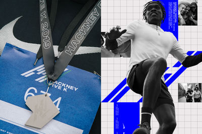 Hackney Half Marathon rebranding by Soft Power