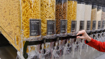 Waitrose unveils a packaging-free refill station