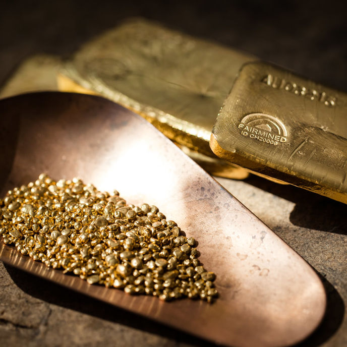Fairmined gold by Chopard