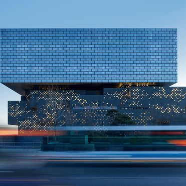 A high-end auction house hotel for Beijing