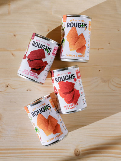 Roughs by Satisfied Snacks, UK