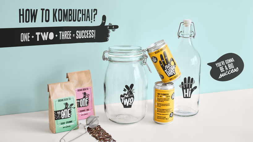 DIY kombucha by Læsk and Everland for Ikea